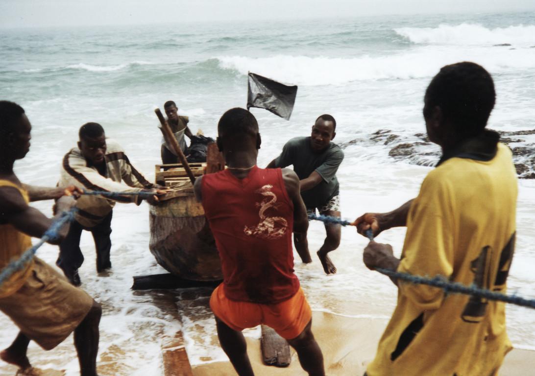 Pêcheurs Ghannéens