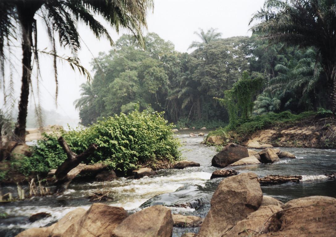 Le fleuve Sassandra près de Gaoulou