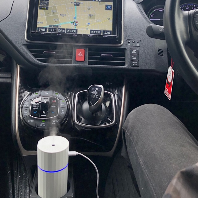 車で空間除菌