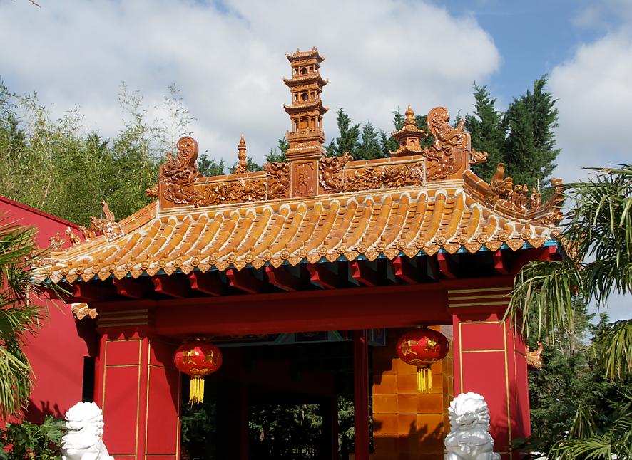Beauval - Porche des pandas 2013