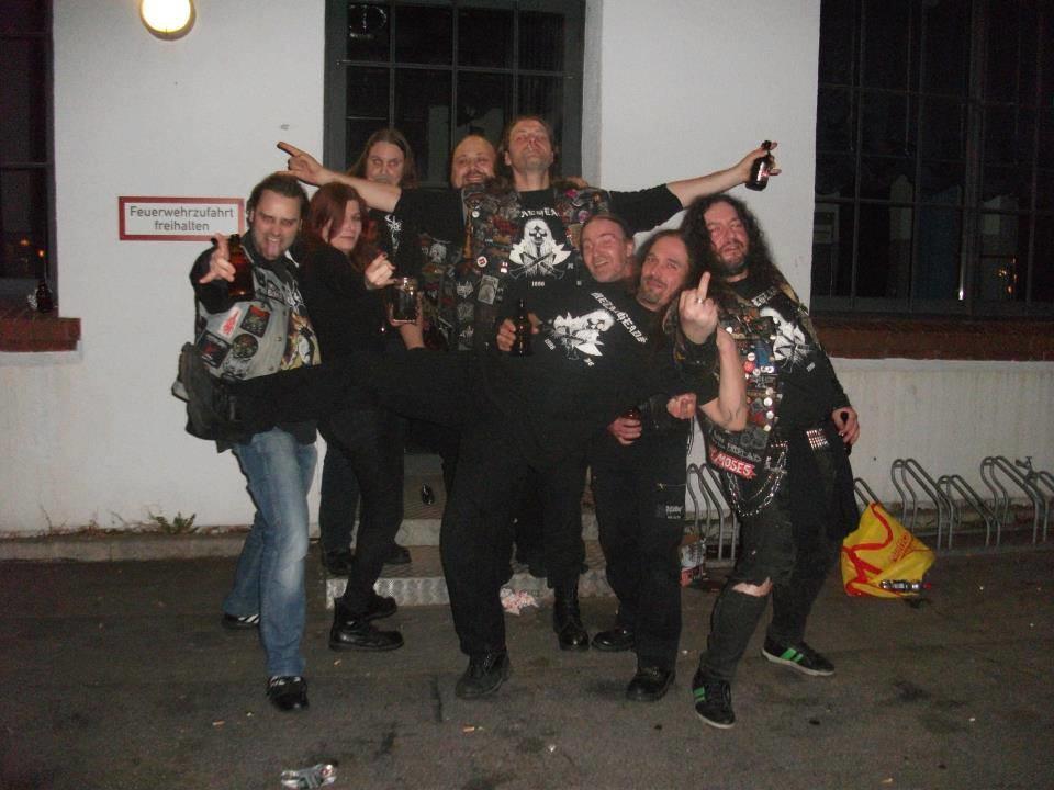 Gehennah Konzert, 24.03.2012, Bambi Galore, Hamburg