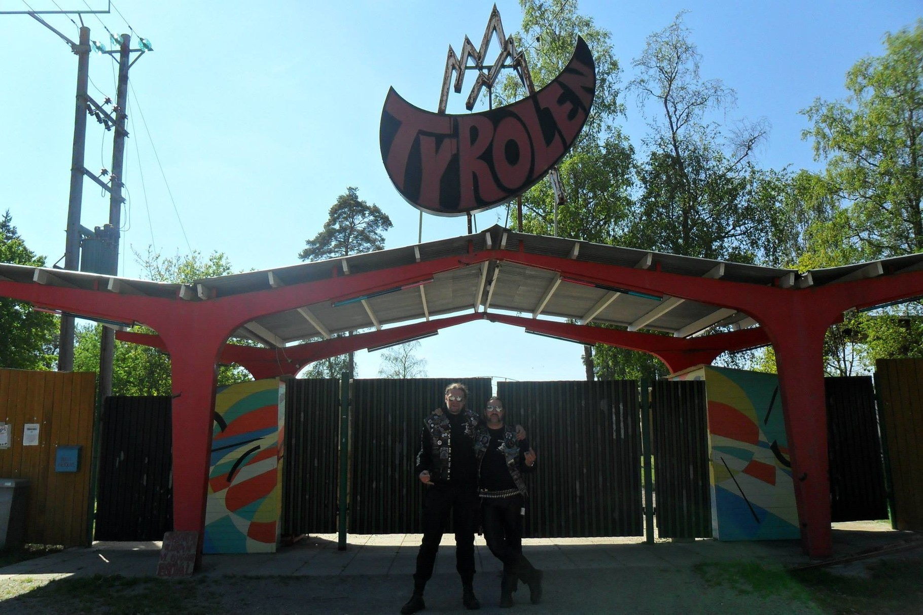 Tino und Jerry auf dem Muskelrock, Alvesta, Schweden