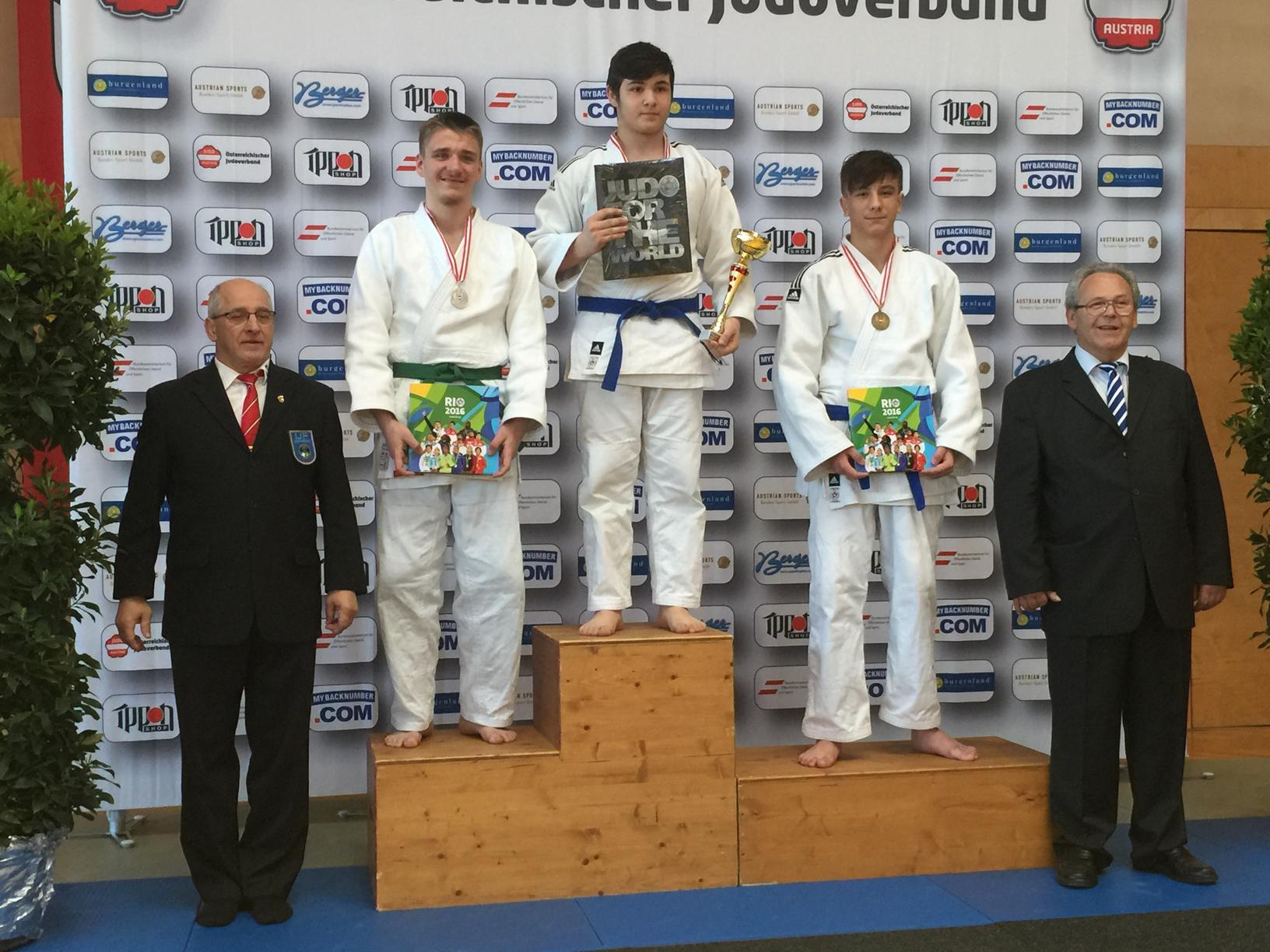 Bronzemedaille für Julian Riedinger