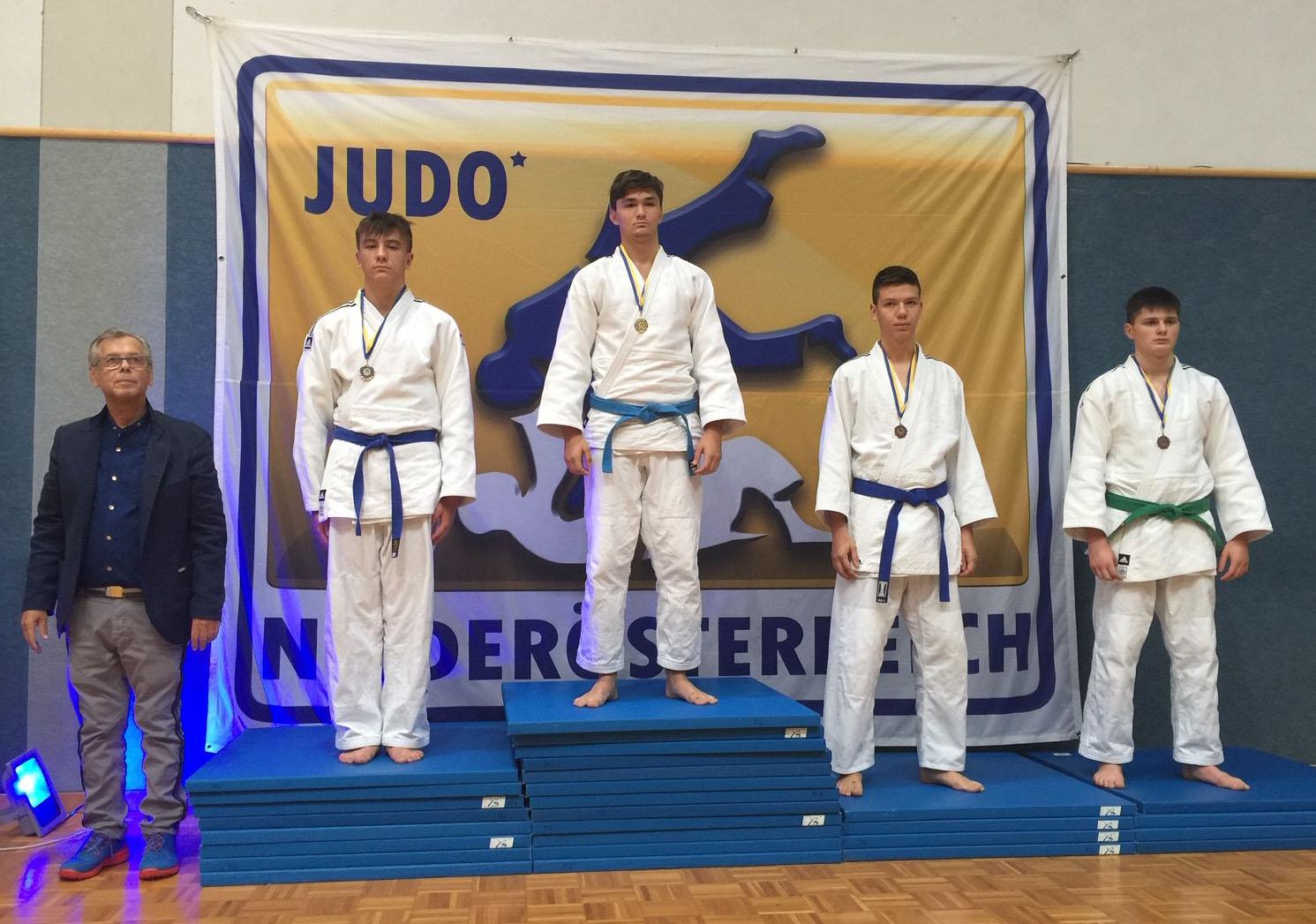 Silber für Julian Riedinger bei der 3. Runde des Berger Cups