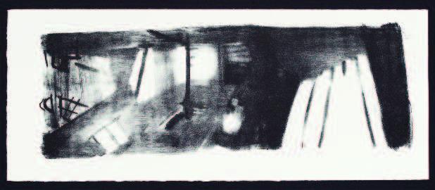 Stefanie Pojar, Space II, Lithographie, 2016