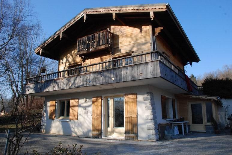 Die Vermietung Le Berceau Savoyard in den Bergen der Haute-Savoie, Frankreich