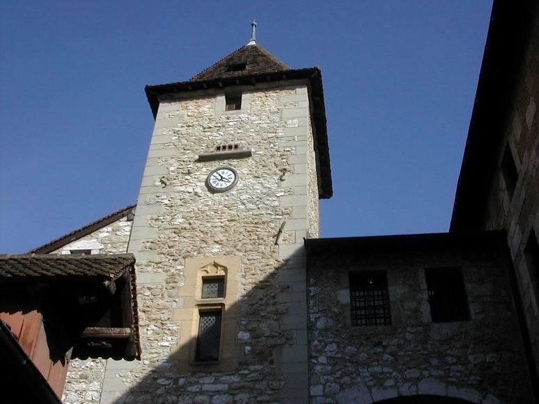 Le Palais de l'Isle sur le Thiou, à Annecy.