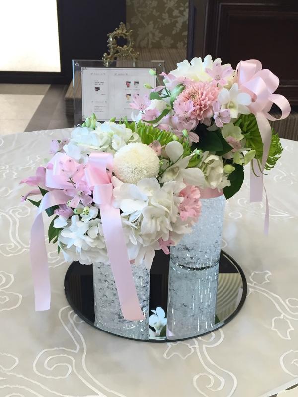 会場装花 テーブル装飾