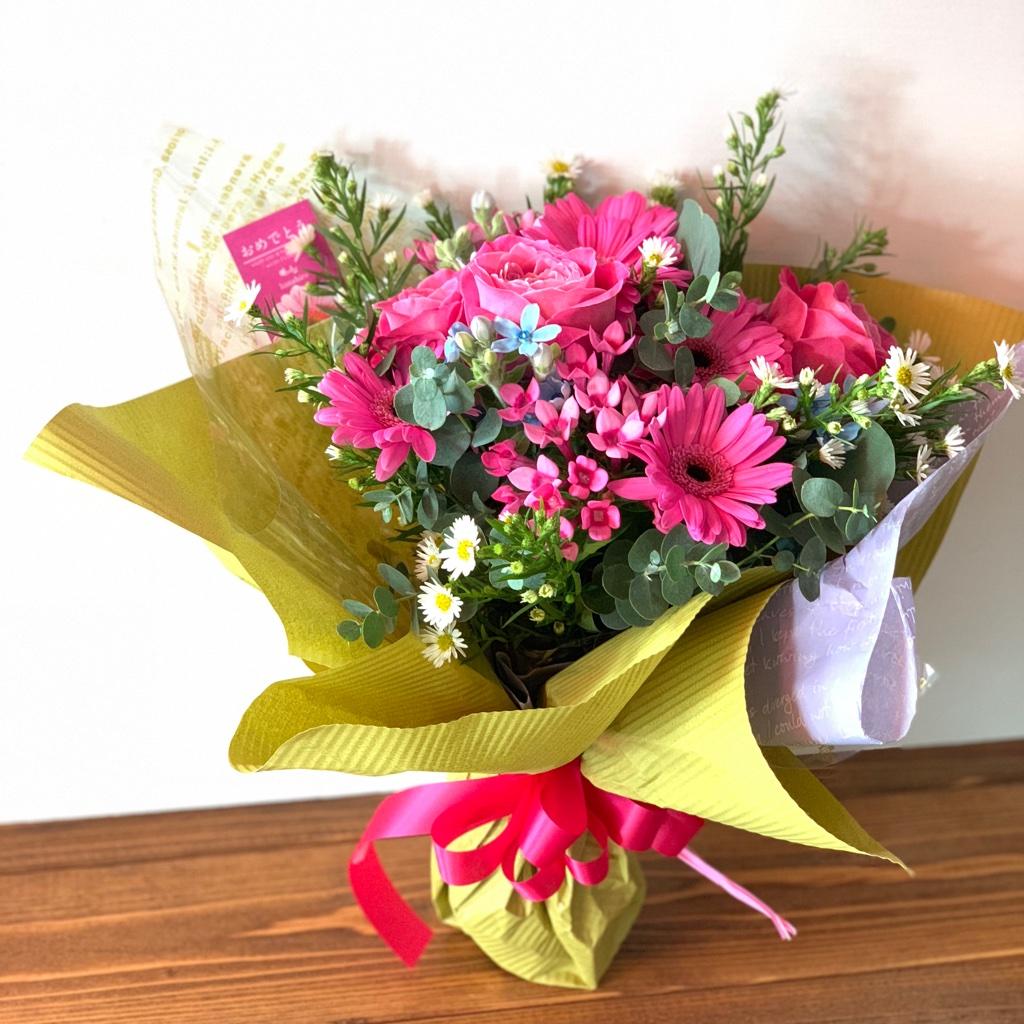 ③大人っぽくおしゃれな方へ贈る花束