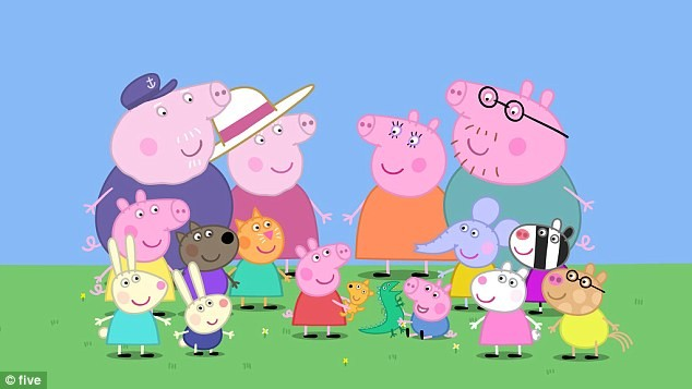 Learn Russian with Peppa Pig - russian-with-peppas Webseite!