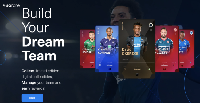 NFTs trading cards to play fantasy football in Europe