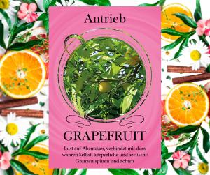 Grapefruit - Öl des Antriebs und Lust auf Abenteuer