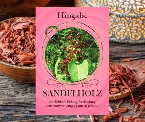 Sandelholz - Öl der Verbindung