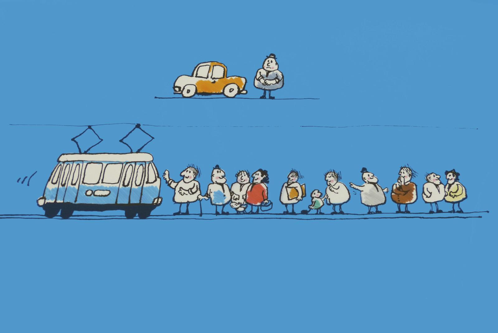 Verkehrsbetriebe Zürich: Diashow über den öffentlichen Verkehr