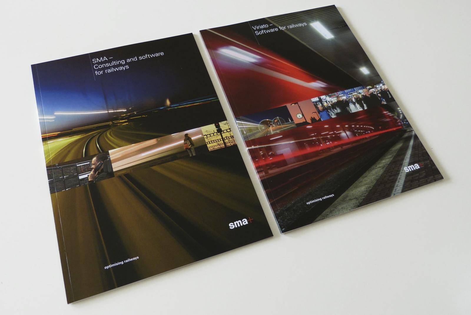 Titelblätter beider Broschüren