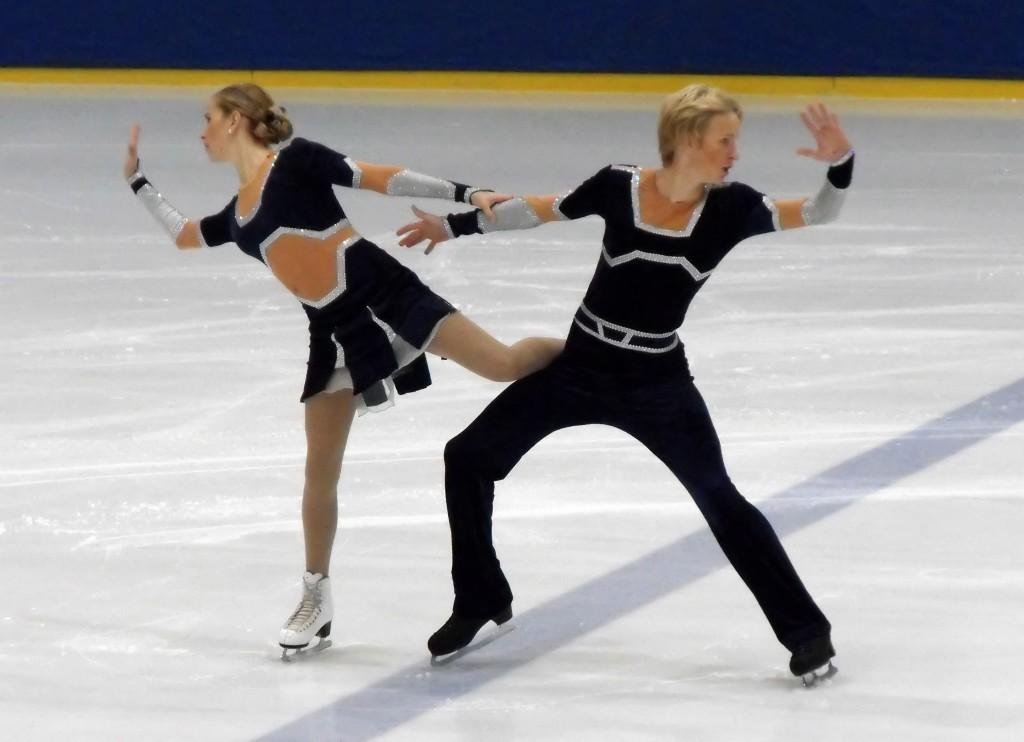 Lisa und Lasse Martin (KSV Unna) Nachwuchs Eistanz