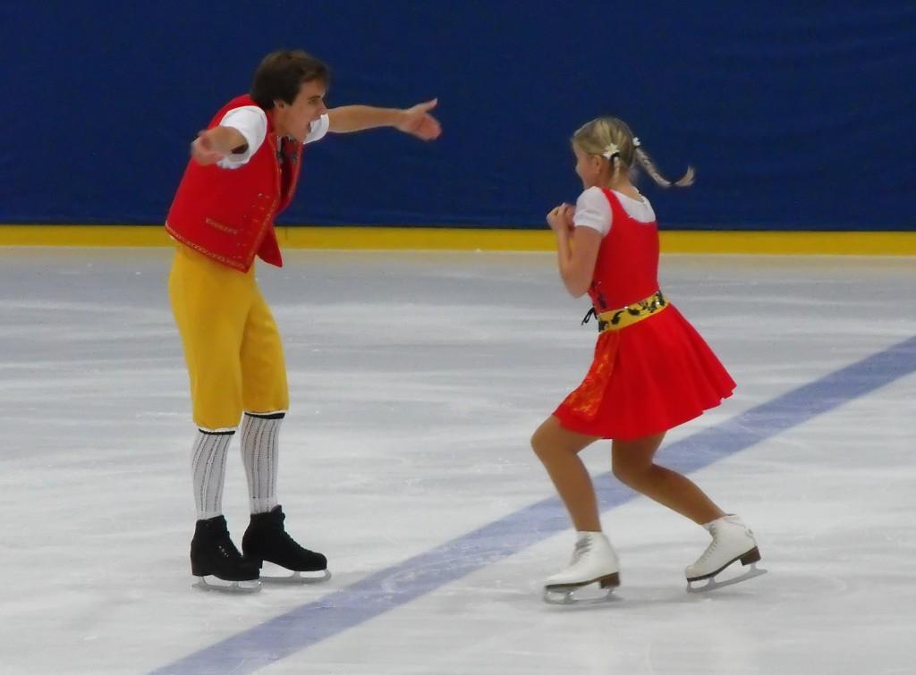 Ramona Elsener / Florian Roost (Schweiz) Junioren Eistanz