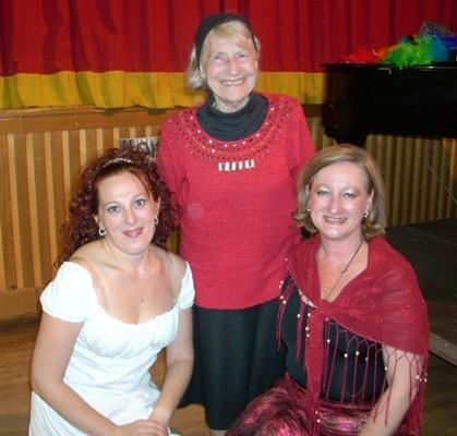 Musical, Margit Pregler, Gerti aus der Schweiz, Regine Pawelka