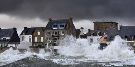 tempête 2014 au guilvinec- © ville Guilvinec