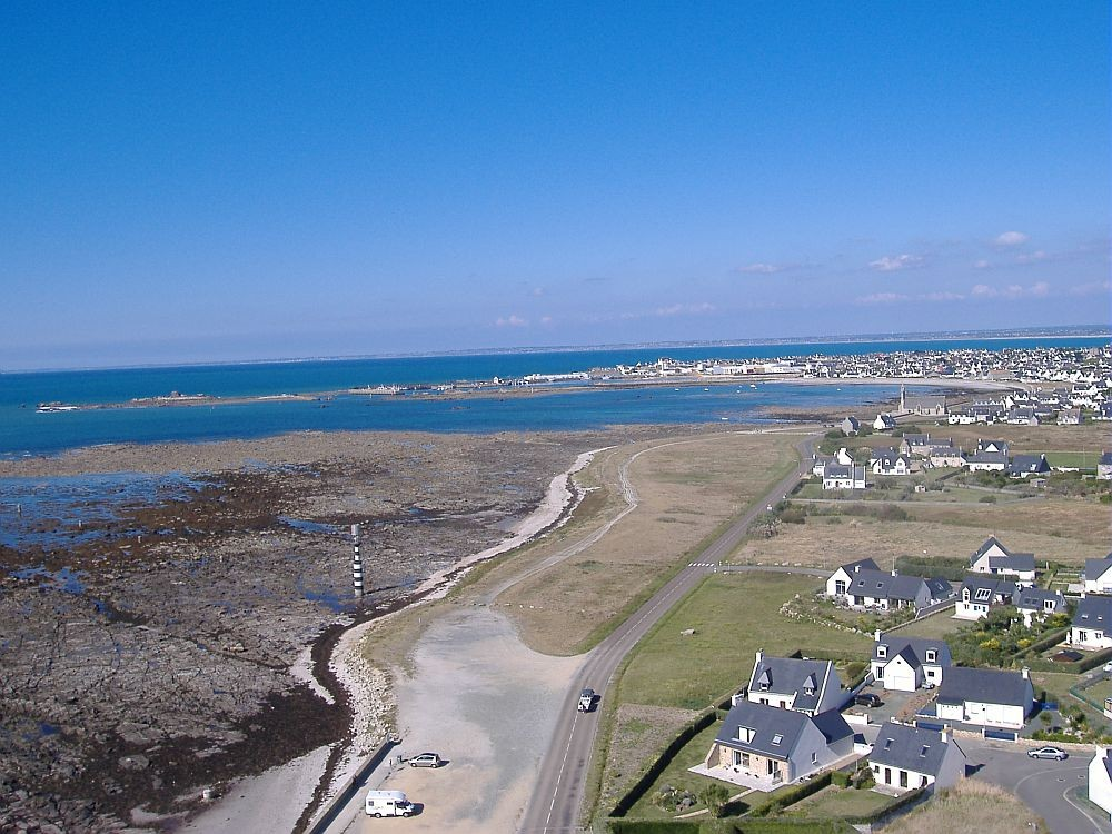 Vue aérienne de Saint Guénolé-Penmarch  (  © photo Bleuzen Delphine)