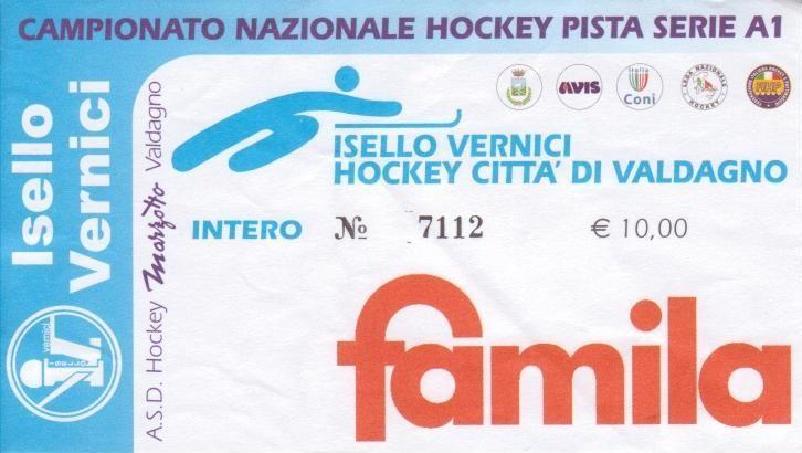BIGLIETTO VALDAGNO - PORTO 18-12-2010