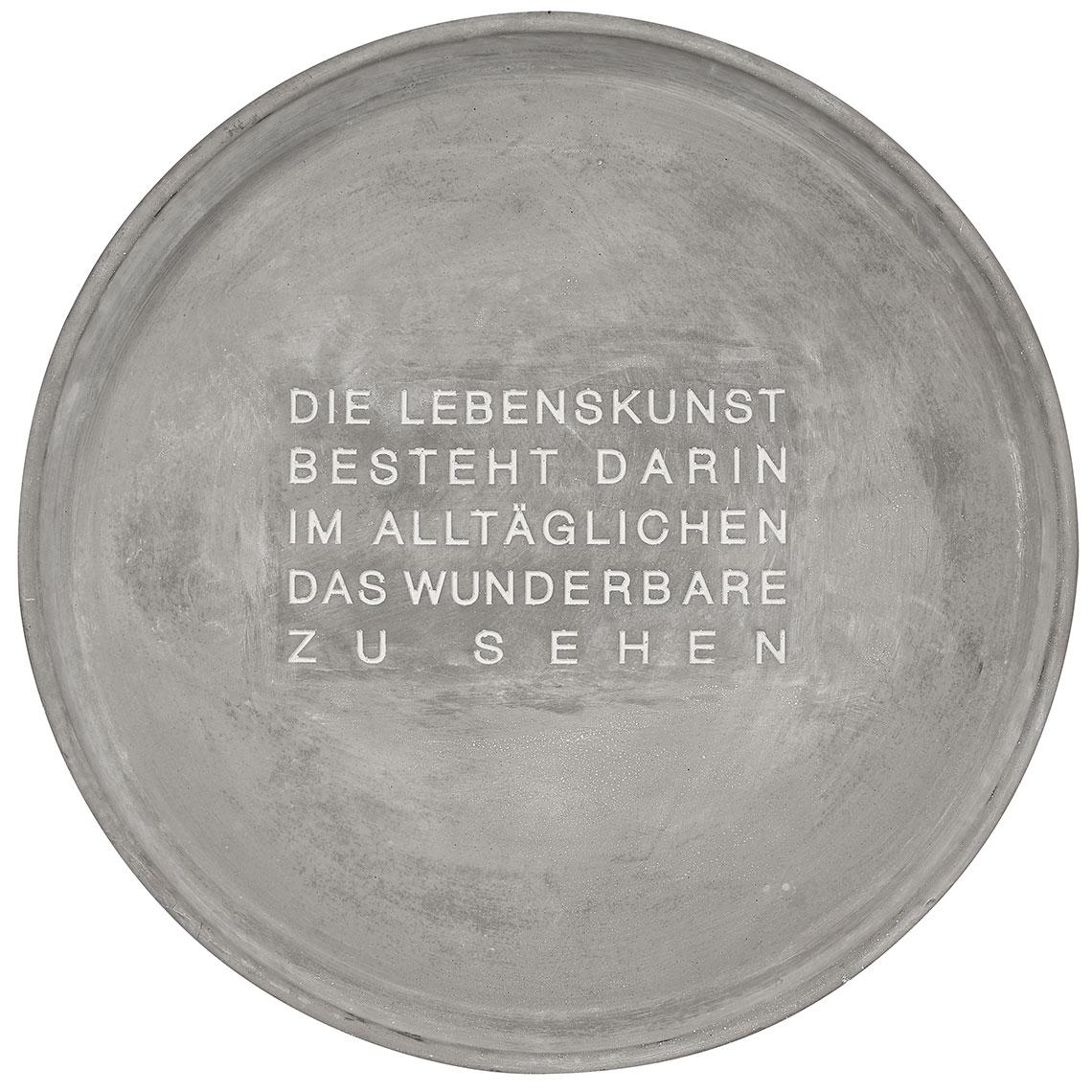 "Schale ""Lebenskunst"". Räder Design."