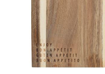 """Schneidebrett """"Enjoy"""". Räder Design."""