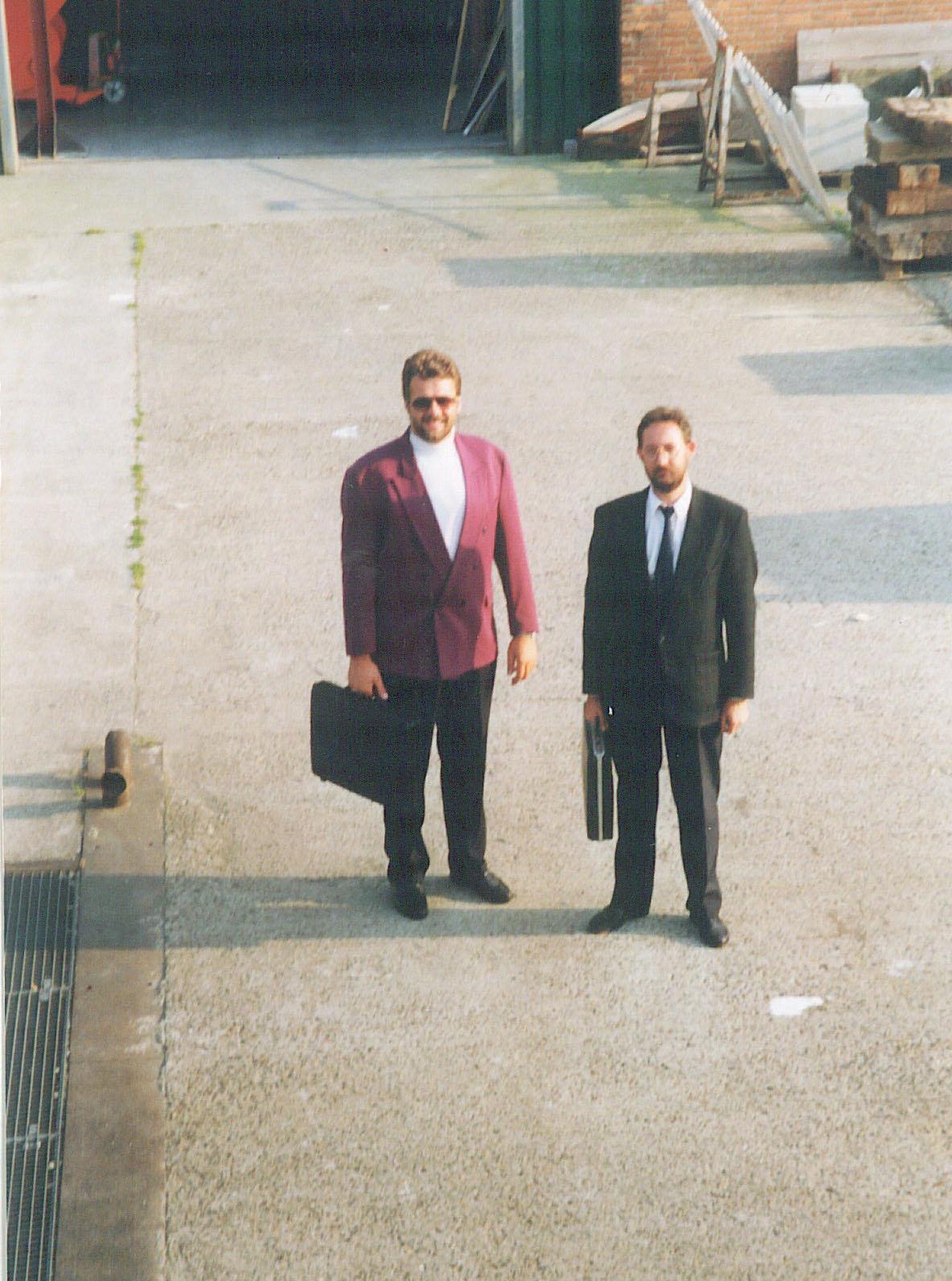 Jos van den Heuvel en Theo van Heck