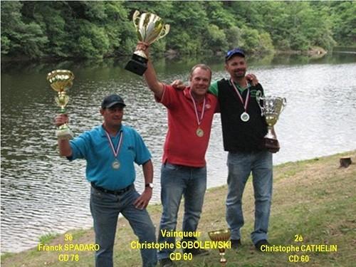 1è Nat MOULINET  :  Vainqueur  Christophe  SOBOLEWSKI