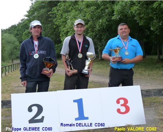 3è Nat COUP : Vainqueur Romain DELILLE