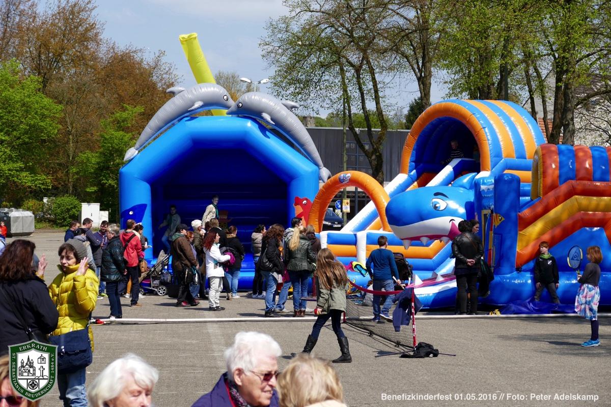 Benefizkinderfest 01.05.2016. Foto: Peter Adelskamp