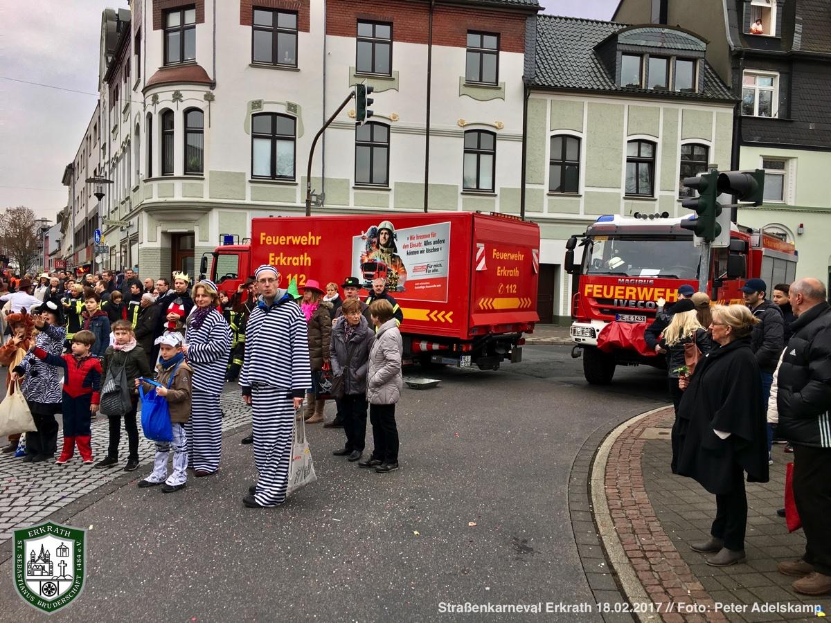 Erkrather Straßenkarneval 18.02.2017 (Foto: Peter Adelskamp)