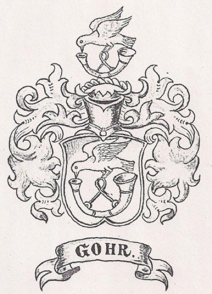 Wappen der Familie Gohr