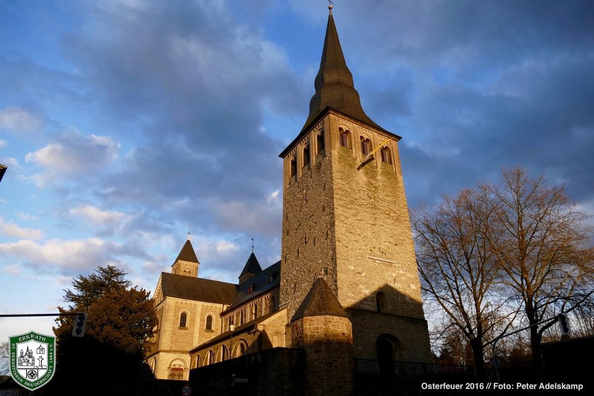 Kirche St. Johannes der Täufer 2016. Foto: Peter Adelskamp