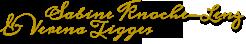 Grafik: Unterschriften von S. Knoche-Lenz, Fachanwältin f. Steuerrecht & Verena Tigges, LL.M. (TAXATION), Fachanwältin f. Steuerrecht, Hamburg