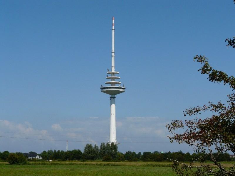 Fernsehturm nahe der Innenstadt