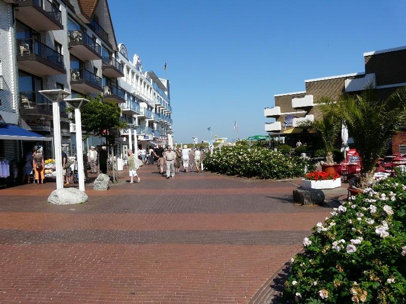 Mitten in Cuxhaven-Duhnen