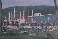 Inauguration de la première tranche des travaux en 1964
