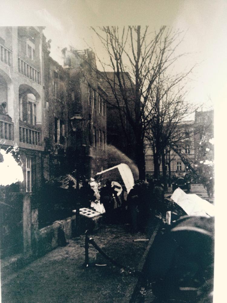 Historische Aufnahme von 1942