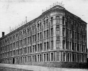 Historische Ansicht, Fabrikgebäude Schlachthofstr. 3