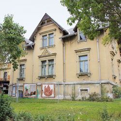 Rähnisstraße 40, Eingangstür