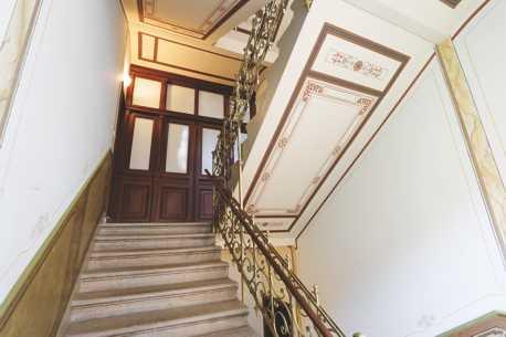 Treppenhaus Barenstraße 14 und 16