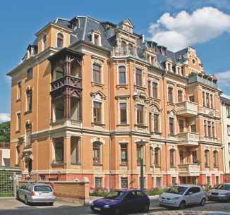 Bärenstraße 14 und 16, Plauen, Fassadenansicht