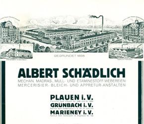 Firmensignet der 1930er Jahre