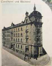 Hainstraße 4, historische Ansicht