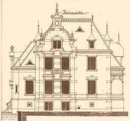 Weststraße 39, Bauzeichnung