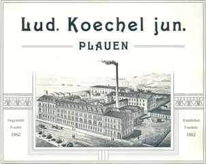 Anzeige der Fa. Ludwig Köchel jun.