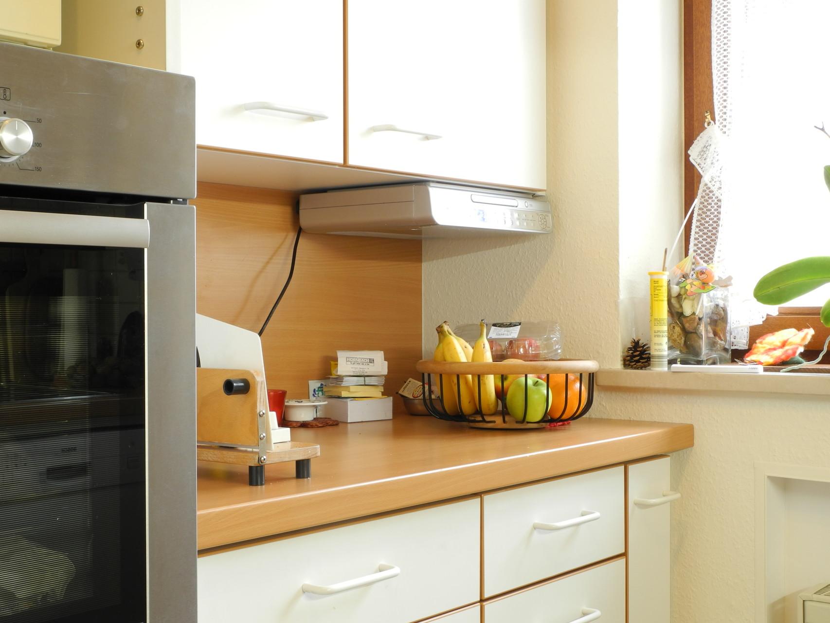 Arbeitsbereich einer Küche