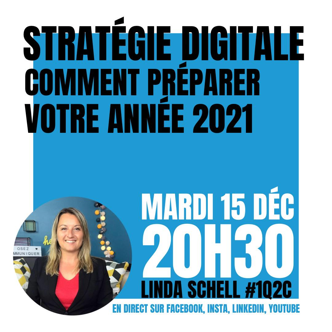 Comment préparer sa stratégie digitale 2021 ?