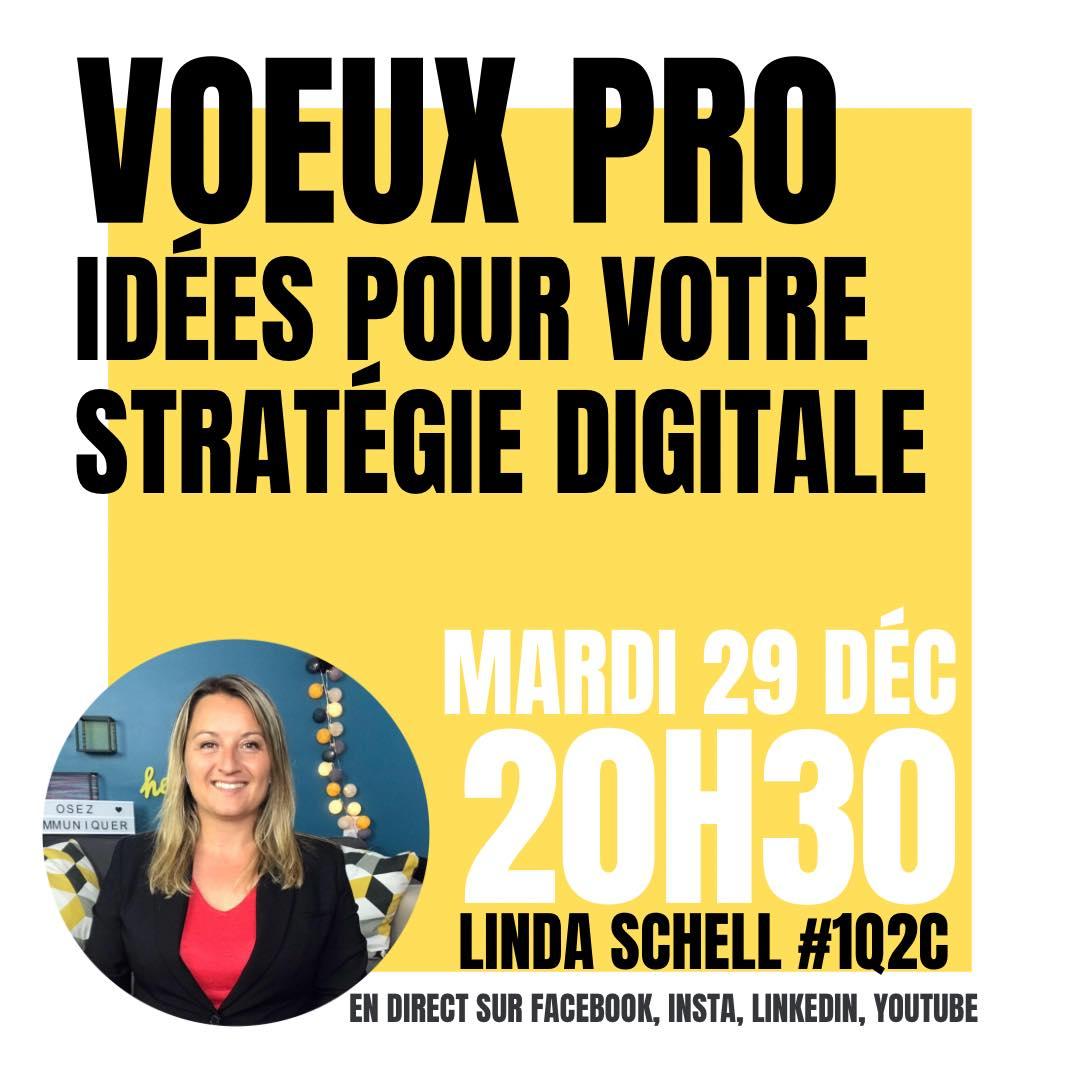 Vœux pro et bonne année : idées pour votre stratégie digitale
